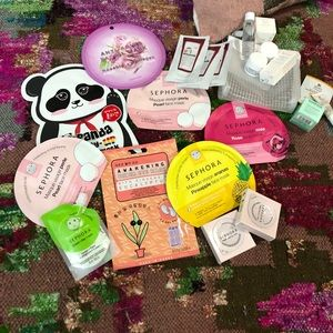 Lot of Face Masks and Samples (All New)
